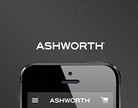 Ashworth Golf - Responsive Redesign