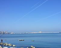 The East harbour of Alexandria