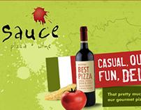 Sauce Pizza + Wine Website