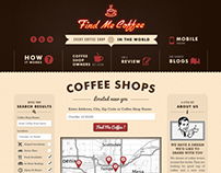 Find Me Coffee Website and Mobile App