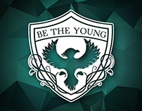 Be The Young Logo Design- Madison, WI Pop Punk