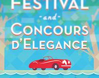 Hilton Head Island Motoring Festival Poster