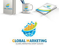 Global Marketing Logo Template