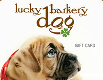 Lucky Dog Card Design