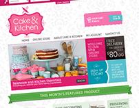 Cake & Kitchen, Website / Online Store