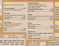 Backyard BBQ Pit Menu