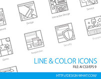 Line&Color ICONs