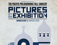 Pacific Philharmonic Concert Posters