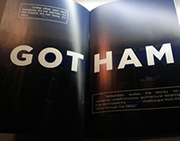Gotham - Type Specimen