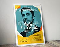Affiche concert Pablo Campos