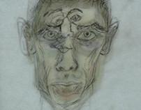 Layered Self Portrait