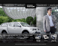 Mitsubishi's Triton Website