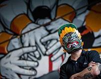 Murals in Phnom Penh
