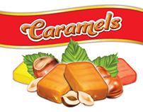 """Packing design for """"Caramels"""""""