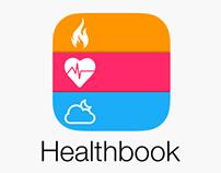 Healthbook App (iOS 8) Concept