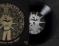 Reverend Backflash Screenprint Split Singles
