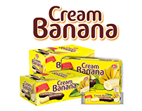 """Packing design for """"Cream banana"""""""
