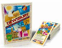 Dewsbury on Sea Sponsorship Brand ID + Illustration