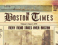 Boston Times: a historical recreation of news