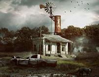 Swamp Cabin.