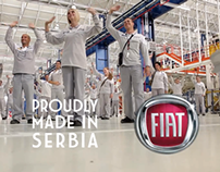 FIAT Serbia Assembly Plant in Kragujevac