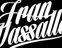 Fran Vassallo Ilustracion - Logotipo