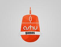 Ashugames, Logo design.