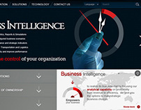 Webdesign and Concept for Reputed Business solutions