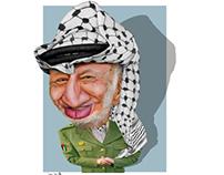 ياسر عرفات Yasser Arafat cartoon كاريكاتير