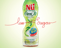 Nu Green Tea - Less Sugar