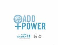 Add Power - a collaboration between UN Women & N+TC