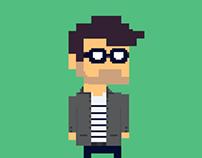 Pixel Art // portrait