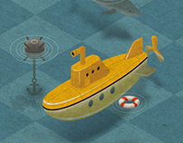 Sea Fight / Морской бой