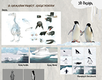 Adelie Penguin : Animal Realistic 3D Project