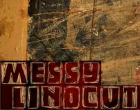 Messy Linocut 2D