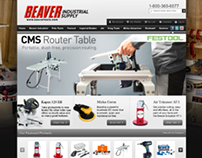 Beaver Industrial Supply branding and web