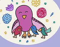illustration for Mom