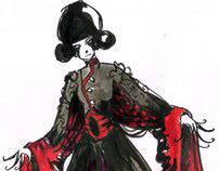 Costume Sketchwork