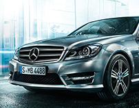 Mercedes C - microsite