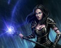 Battle Women - Fantasy Illustrations