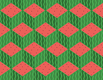Cubic Fruit Patterns