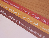 Dolce cafe/restaurant menu