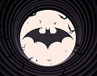 The Dark Knight Noir Trilogy Poster Set