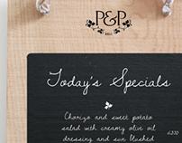 Pickles & Potter App Design