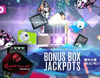 Resorts World Manila Bonus Box ad