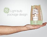 GE Green Light Bulb Packaging