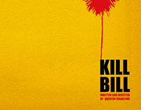 Kill Bill Minimal Movie Posters