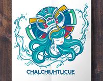 """""""Chalchiuhtlicue"""", Diosa de las Aguas Terrestres"""