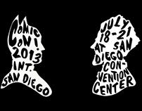 Comic Con 2013 Poster