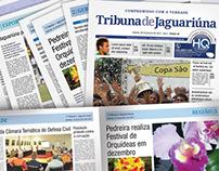 Nova Identidade Visual: Tribuna de Jaguariúna